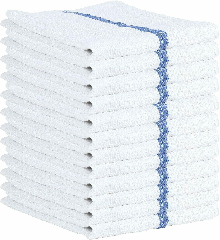 bar mop towel 12 24 pcs cleaning