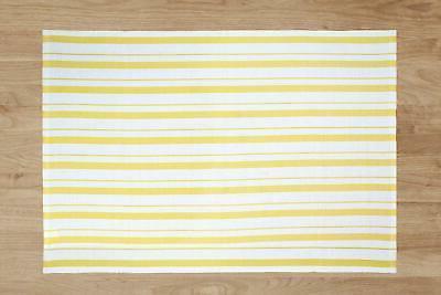 Basket Weave Cotton Striped Pattern