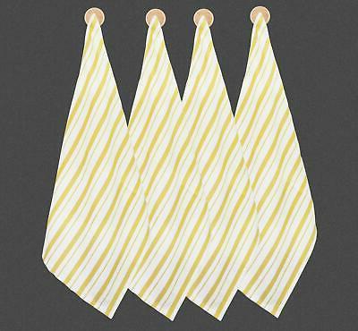 Basket Kitchen Cotton Modern Clean Striped Pack