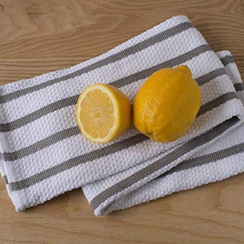 Now Designs Kitchen Towel, Set London Grey