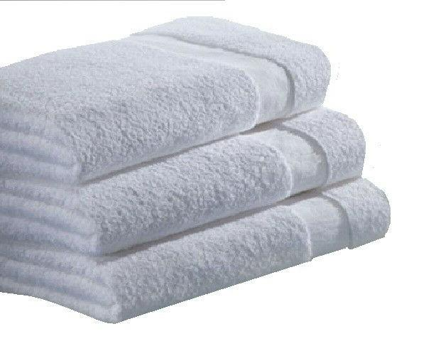 100% COTTON towels-ga towel inches-white- lbs -100%