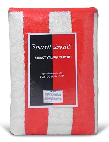 Utopia Towels Pool-Towel 4-Pack, Care, Softness Absorbency