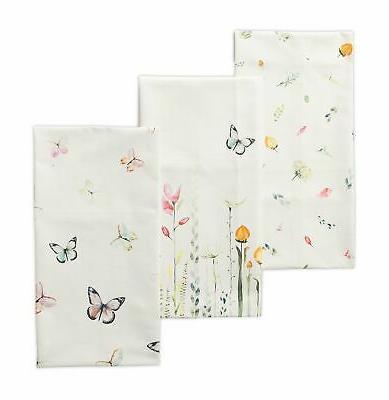 botanical fresh cotton kitchen towels
