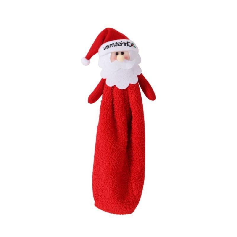 Household Santa Claus Hand <font><b>Towel</b></font> <font><
