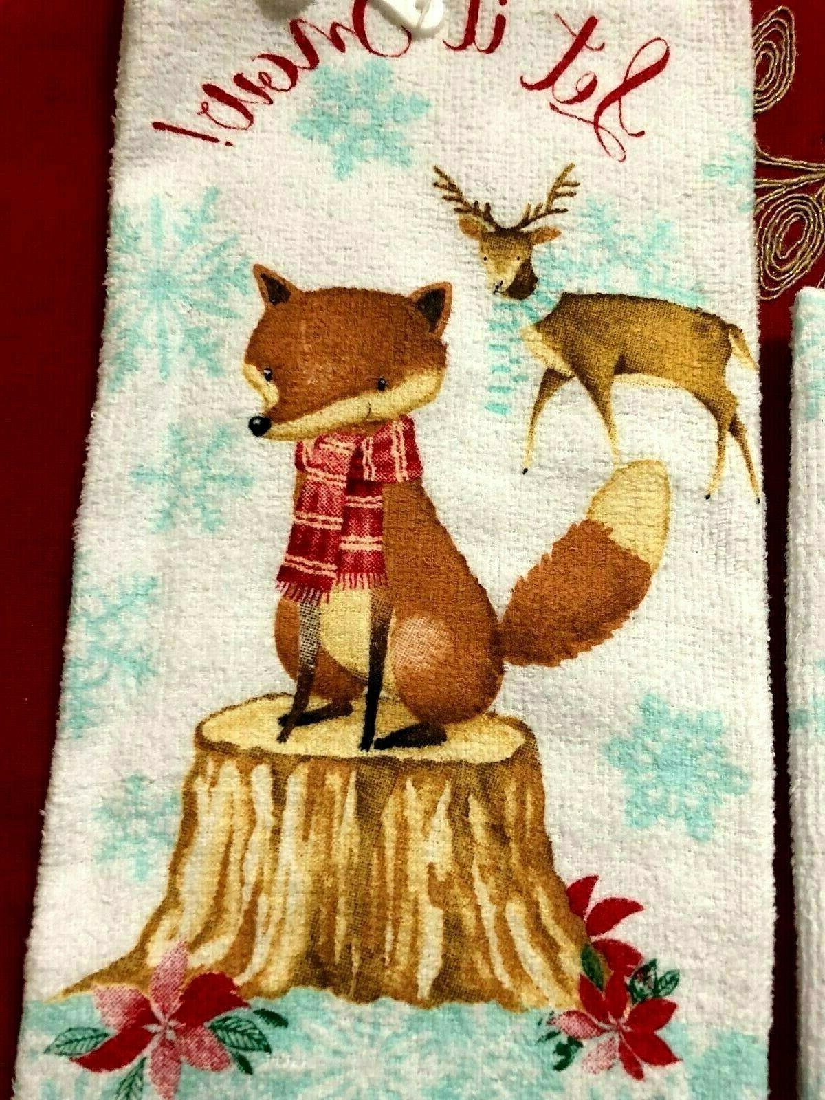 Christmas Kitchen -Let It Snow Christmas Cotton