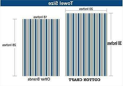 COTTON Set Cotton Weave Towels