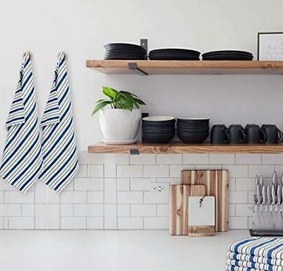 COTTON Set 4 Cotton Kitchen Towels