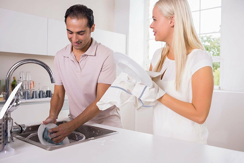 Zeppoli White Towels,100% Towels,14x25 inch