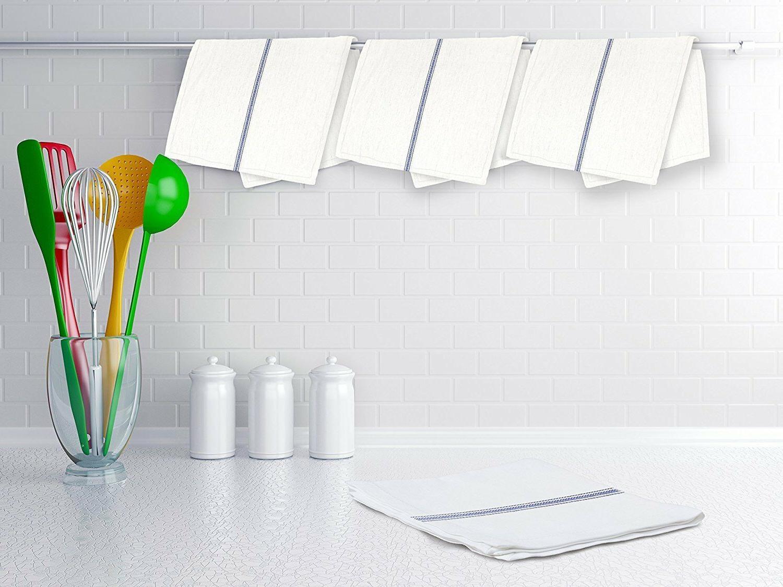 Zeppoli Classic Towels,100% Natural Cotton Towels,14x25
