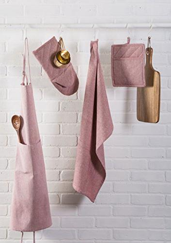 3, Towels Baking-Barn Red
