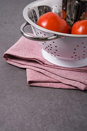DII Chambray Towel, 3, Towels for Cooking Baking-Barn