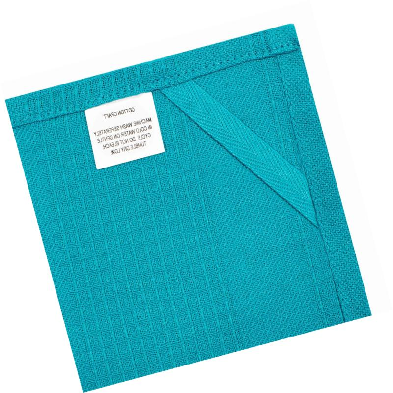 Cotton Multicolor Kitchen Towels 16x28 Inches- Pure,