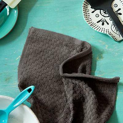 COTTON - Pack - Euro Waffle Terry Kitchen Towels -