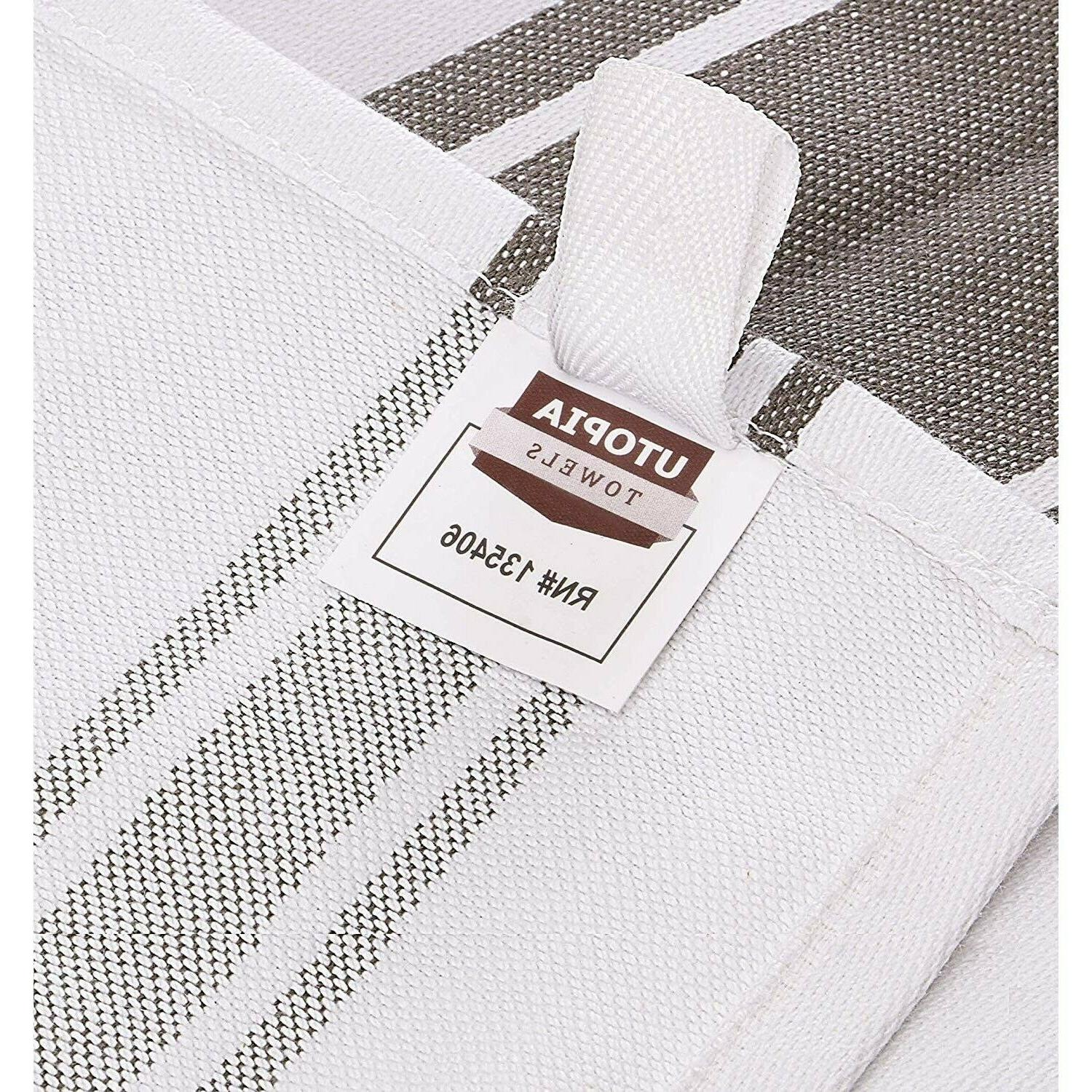Cotton Absorbent Stripe Natural Classic Solid NEW