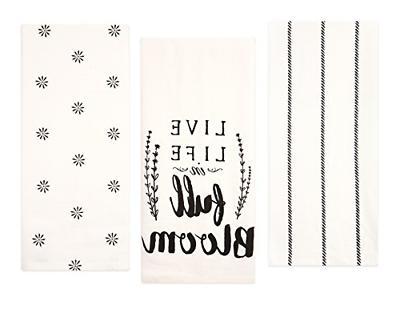 cotton flour sack kitchen towels