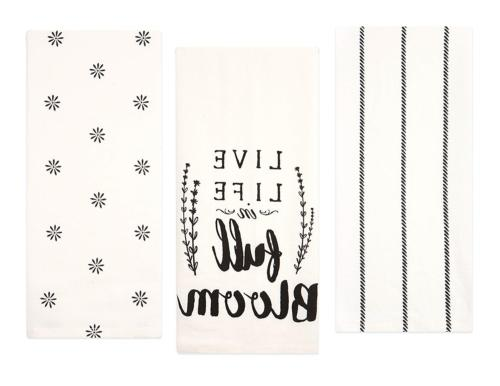 cotton flour sack kitchen towels live life