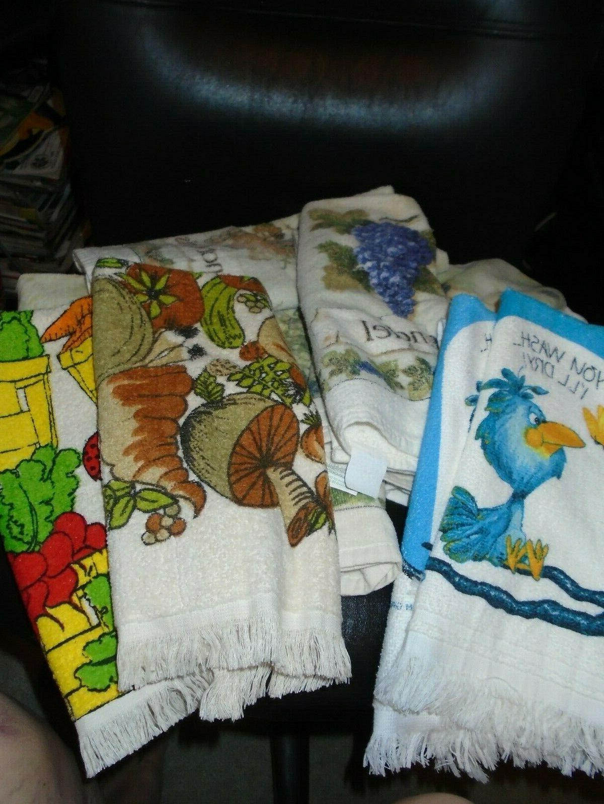 cotton kitchen dish towels you choose from