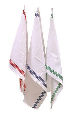 Cotton Kitchen Towels Vintage Stripes Variety Pack - great f