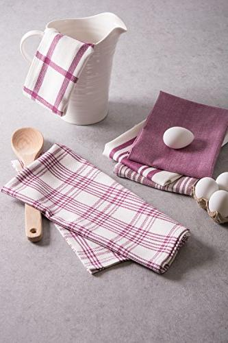 , & Fast Drying, Grade Cotton Towels for Everyday Baking - Set of