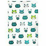 MUkitchen 100% Cotton Oversized Designer Kitchen Towel, Cats