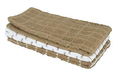 cotton terry kitchen dish towels highly absorbent