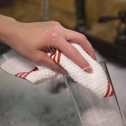Sticky Kitchen Dishcloth, Pack, in 12 in
