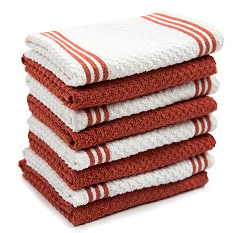 cotton terry kitchen dishcloth
