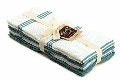 Sticky Cotton Kitchen and Towels Pack, 12x12 in