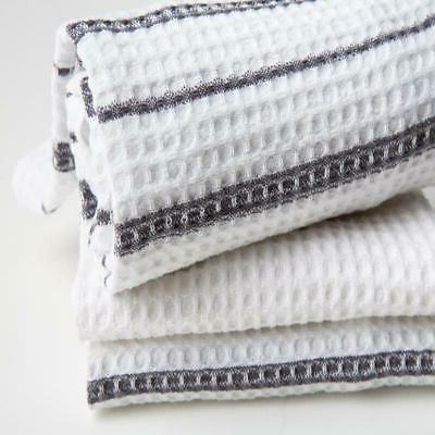 Sticky Weave Kitchen Towels, Gray, 3 in x