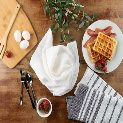 Sticky Toffee Cotton Weave Kitchen 3 Pack, x