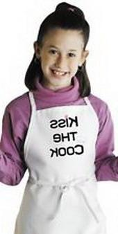 Blazers Proforms Costumes - Cute Kids Apron Kiss The Cook Ch