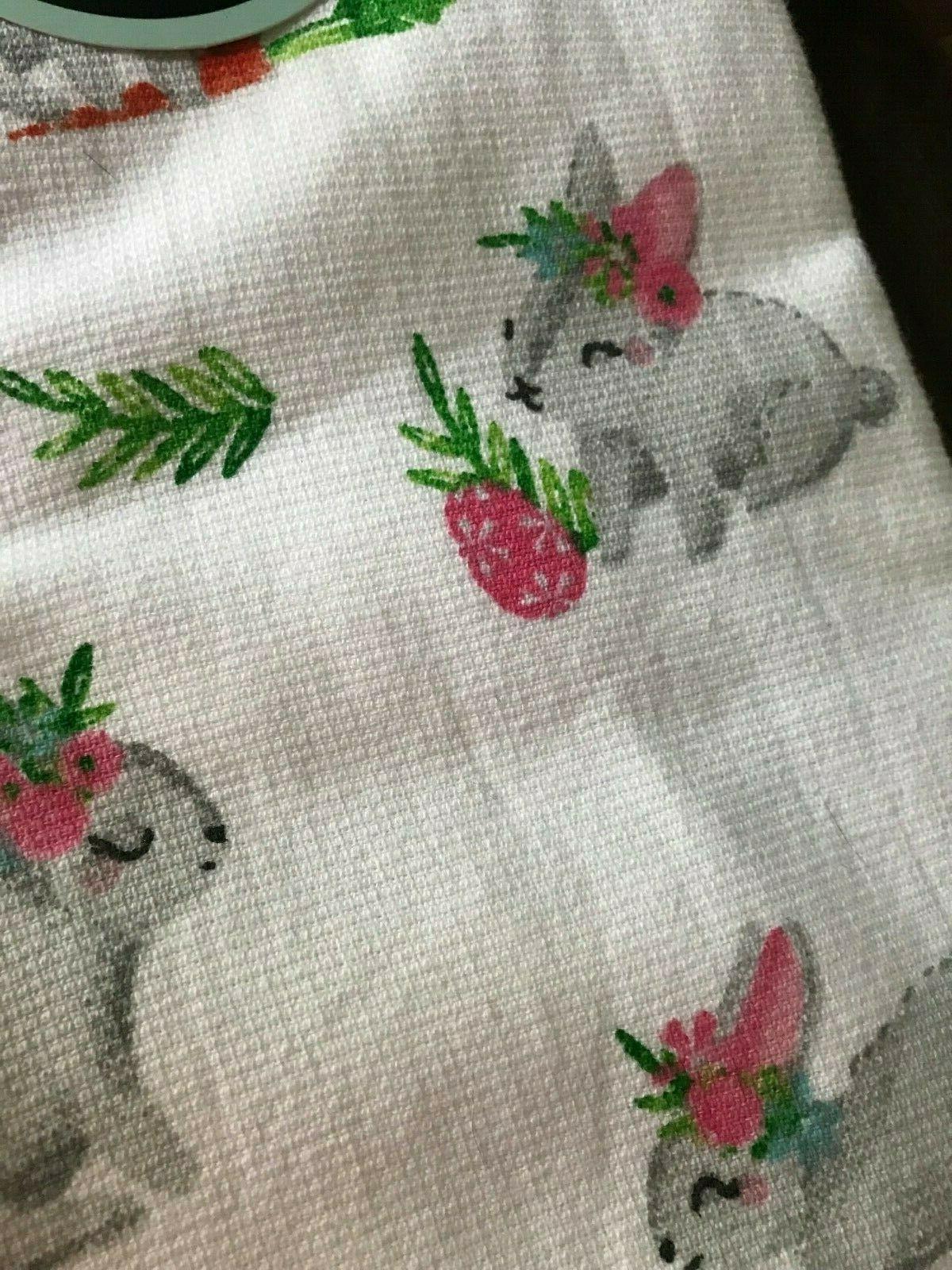 CYNTHIA ROWLEY Two Rabbit w Crown & Carrot