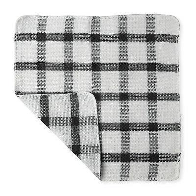 Checkered Pattern Kitchen Napkin
