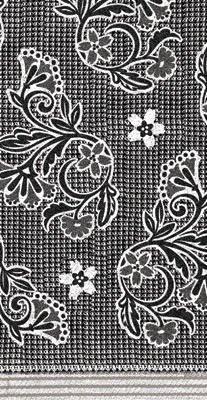 Kay Dee Designs Café Express Waffle Jacquard Cotton Towel,