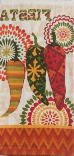 Kay Dee Designs-FIESTA TIME TERRY TOWEL