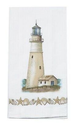 Kay Dee Designs R2353 Coastal Lighthouse Flour Sack Towel