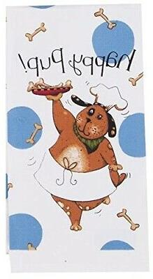 Kay Dee Designs R2643 Happy Dog Flour Sack Towel