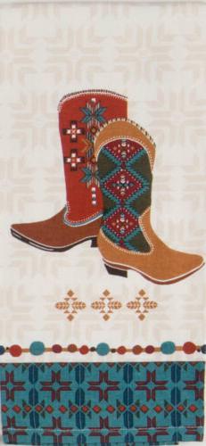 Kay Dee Designs R9168 Southwest at Heart Boots Tea Towel
