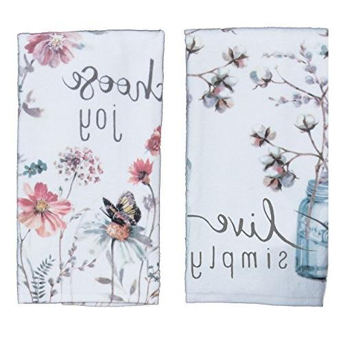 designs terry towel set