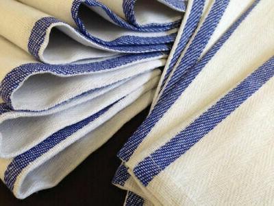 Dish Towels 12 Cotton Striped 15 x 25 Kitchen Tea Towels