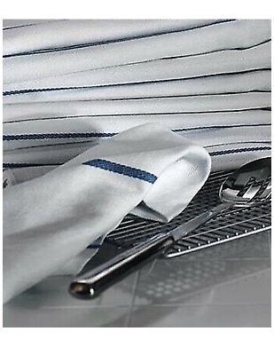 Dish Cotton Blue x 25 Kitchen Tea Towels Bar