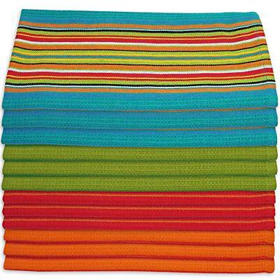 dish towels salsa stripe
