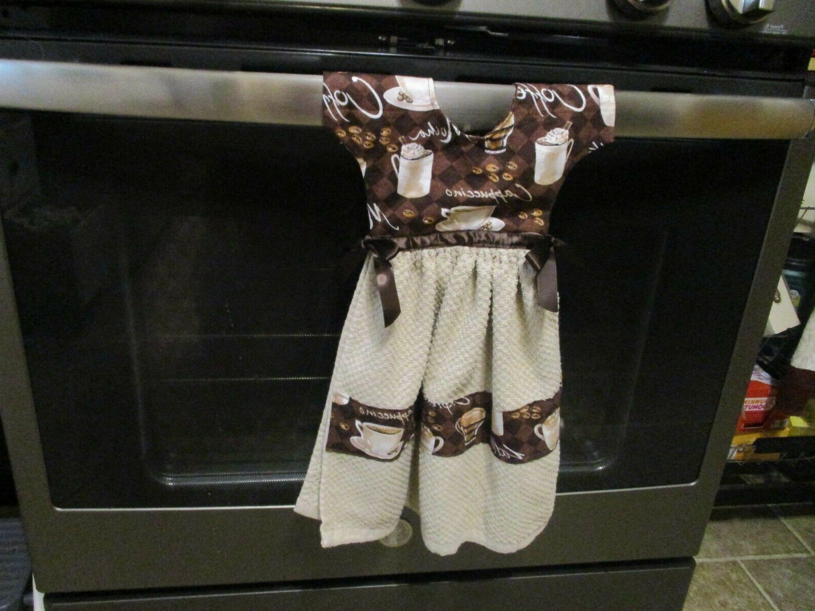 dress shape kitchen towel coffee designs