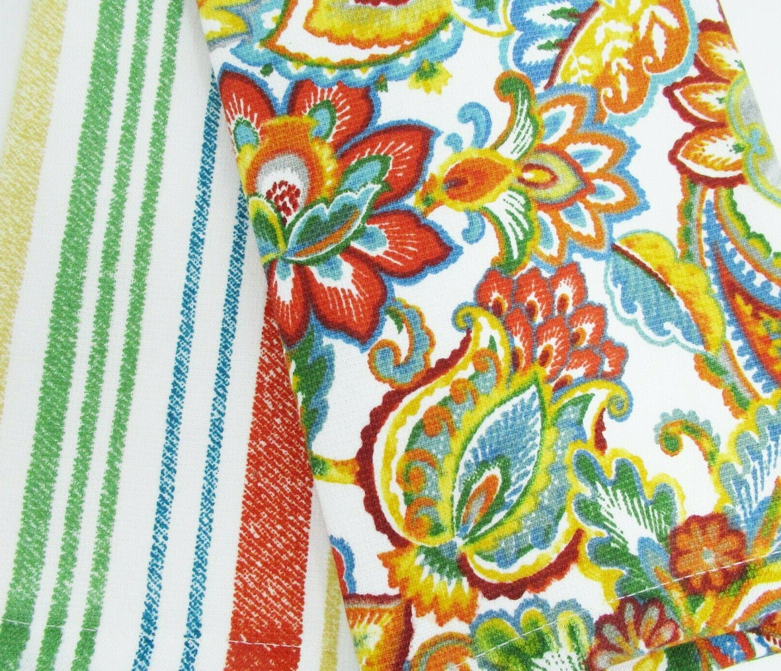 "Eco-Melange Kitchen Towels Set of 2 18x28"" eco-friendly"