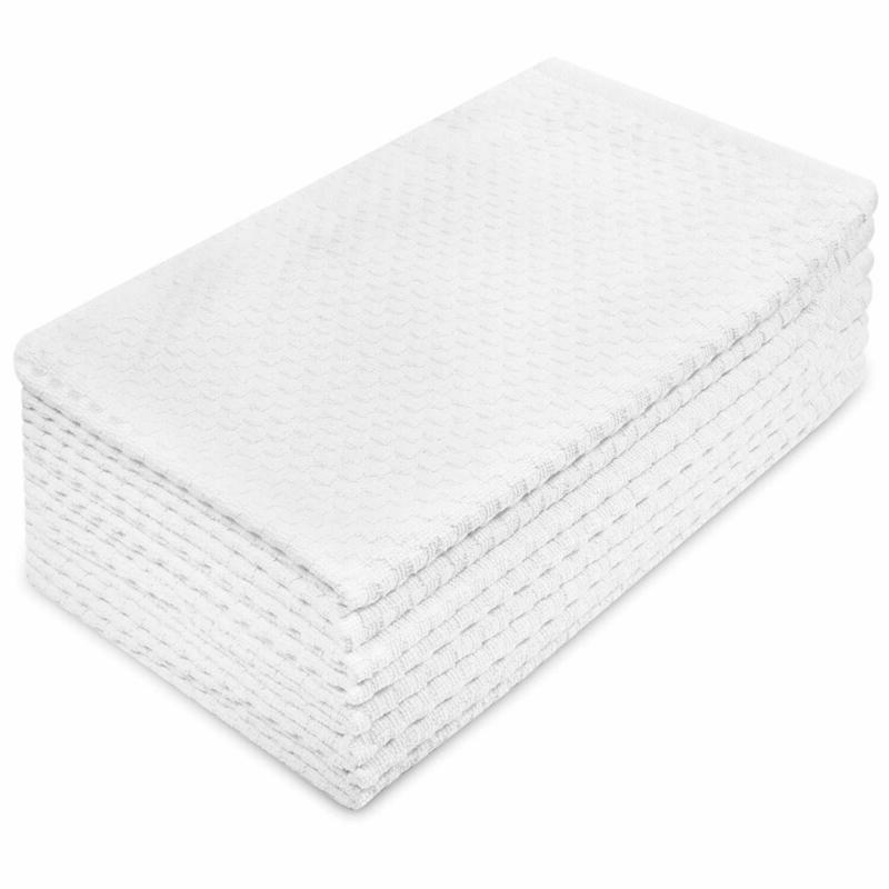 euro cafe waffle weave terry kitchen towels