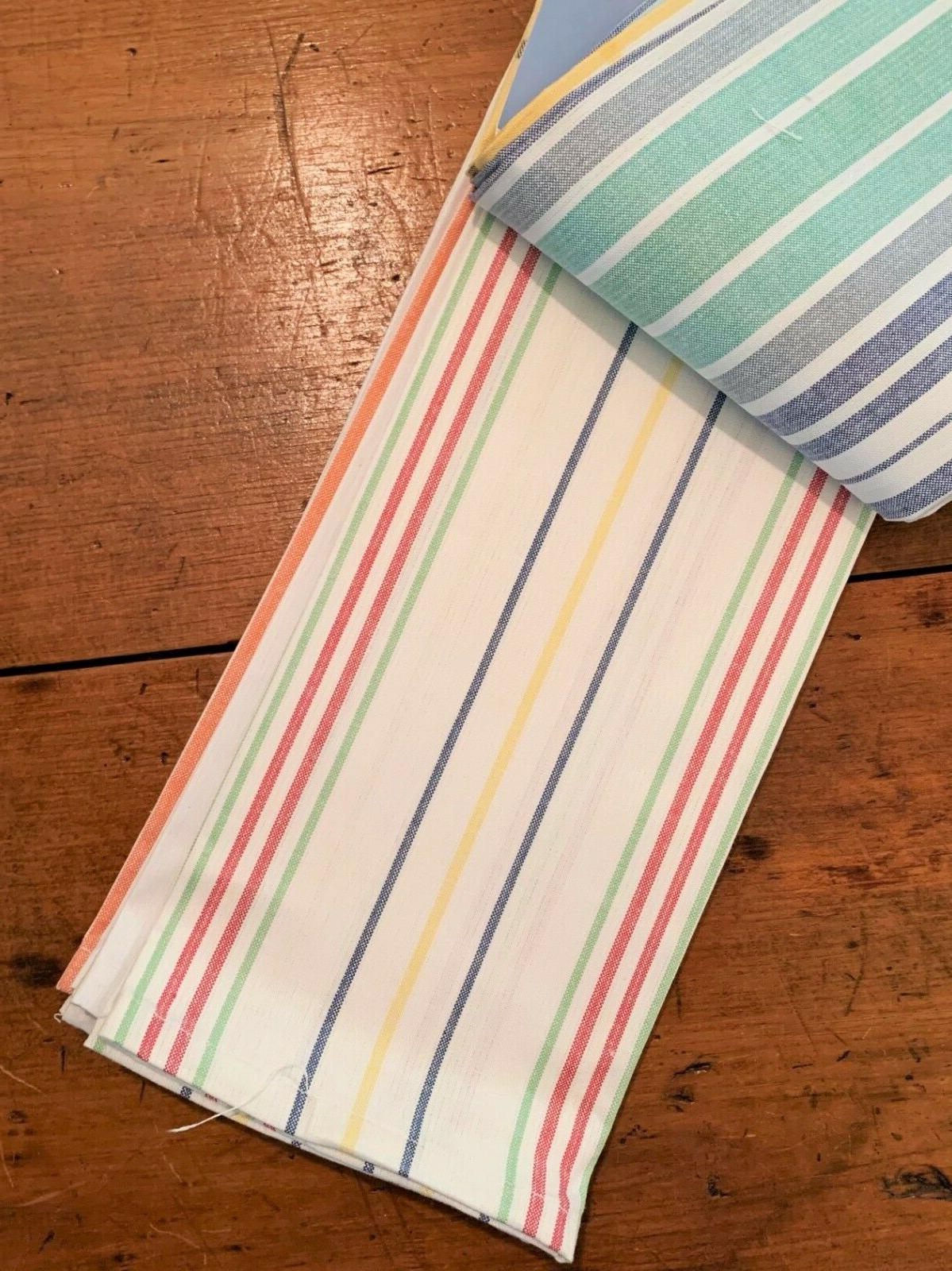 Martha Stewart Striped Kitchen/Tea Set of