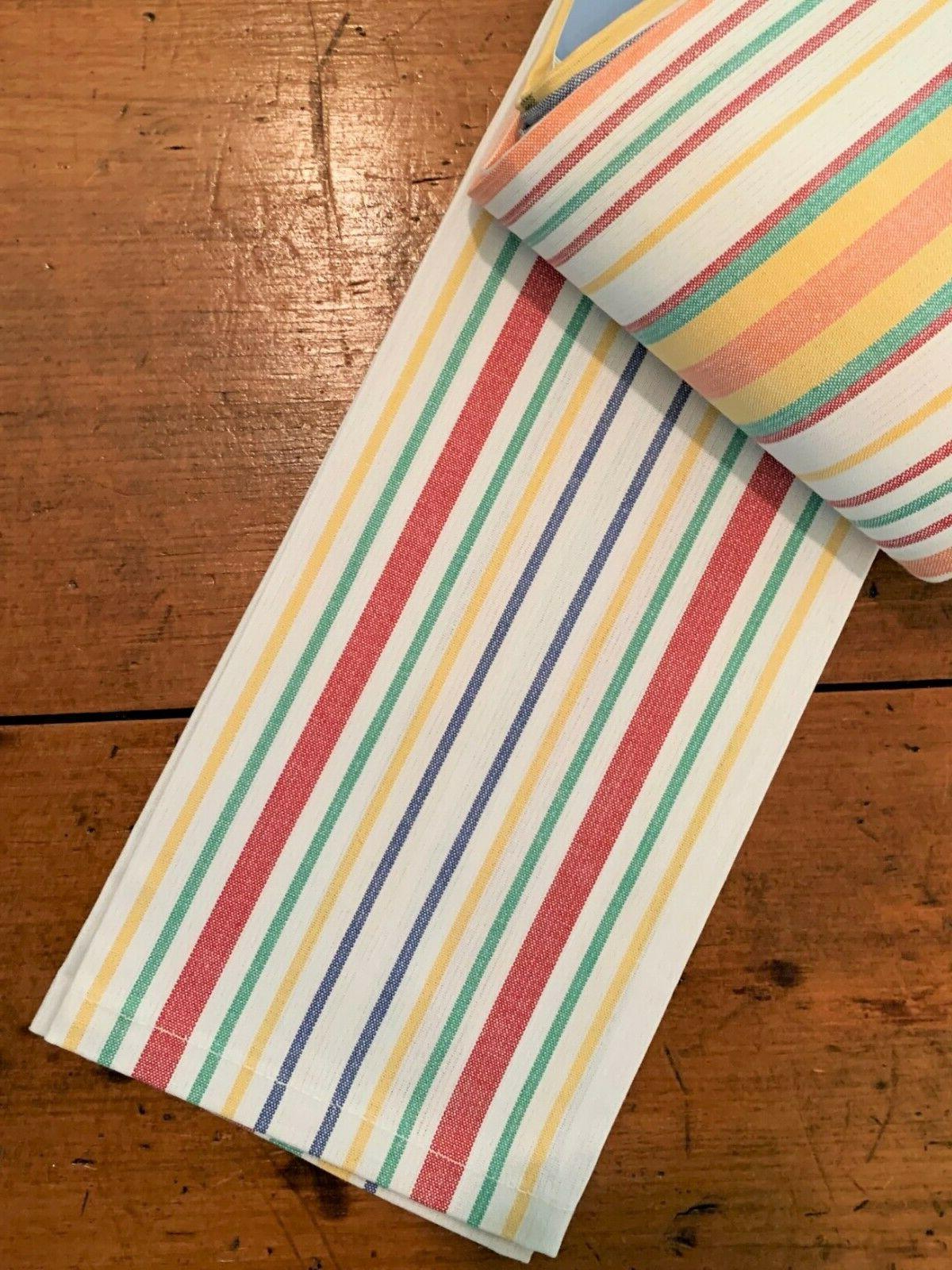 Martha Everyday Vintage/Retro Striped Towels of NWT