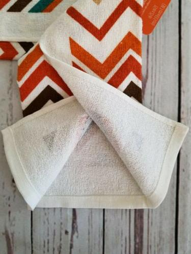 Fall Chevron Kitchen Towel