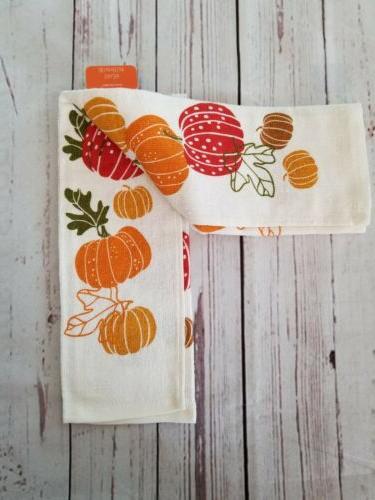 Fall Pumpkins Towel