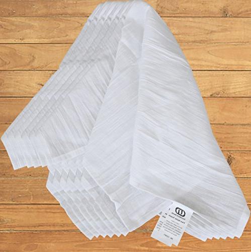 Excellent Deals Flour Sack Kitchen Towels , Cotton 28 Inches Napkins, Purpose Dish